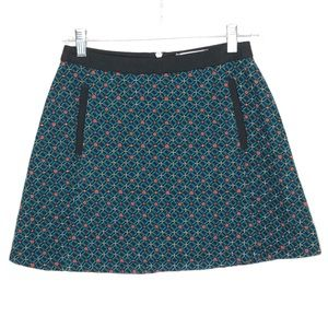 URBAN OUTFITTERS Cooperative Patterned Mini Skirt
